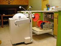 robot pembersih dapur