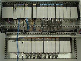 Gambar PLC Allen Bradley dan modul-modulnya