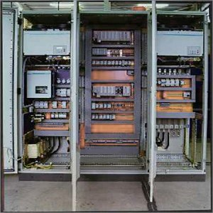 Gambar Panel Kendali (Control Panel) PLC