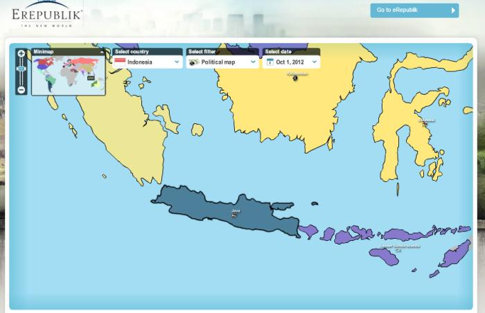 Indonesia terhapus dari peta dunia!!