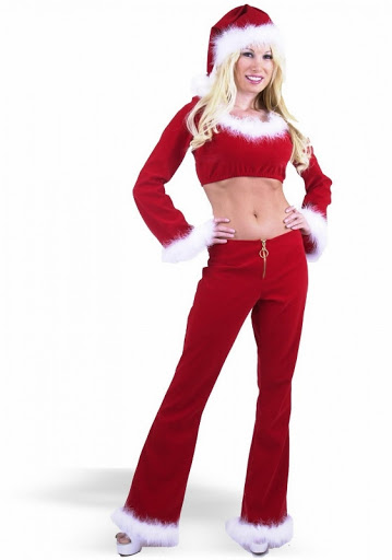Beauty Christmas Lady