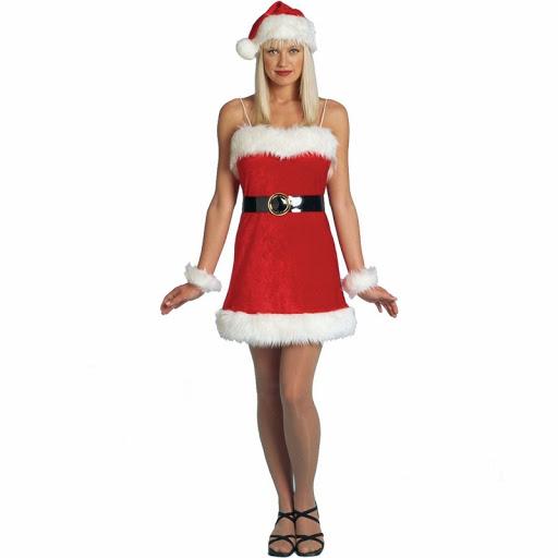 beauty santa lady